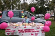 Mia, 10, runs cake stall to raise funds for ill children